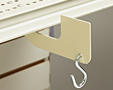 Under-Shelf Hardware-Mount Merchandising Hanger