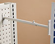 Telescopic Gripper Aisle Sign Holder - Pegboard/Slatwall