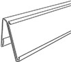 Dual-Purpose Info Strip Label Holder For Slotted Shelf - 2