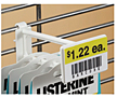 Corrugated/Wire Combo Display Hooks With Scan Plate - 3