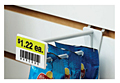 Pegboard/Slatwall Display Hooks With Scan Plate - 3