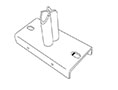 Double Magnetic Adapter Base For Aisle Sign Arms - 2