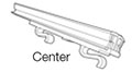 Gripper Warehouse Upright Header - Center End Connector Style - 2